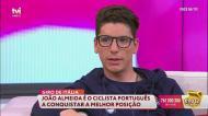 João Almeida explica os sacrifícios que faz para estar em boa forma
