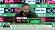 Amorim: «João Mário traz coisas que não há na equipa»