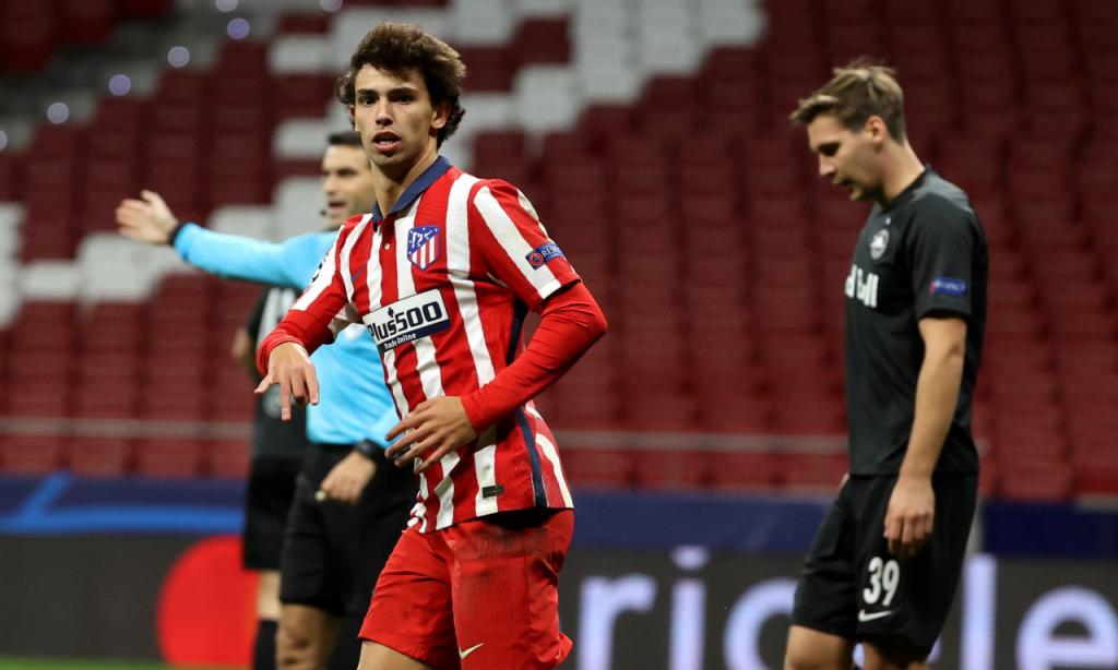 Atlético Madrid-Salzburgo (Juanjo Martín/EPA)