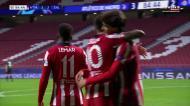 Foi assim que João Félix bisou e fez o 3-2 para o At. Madrid