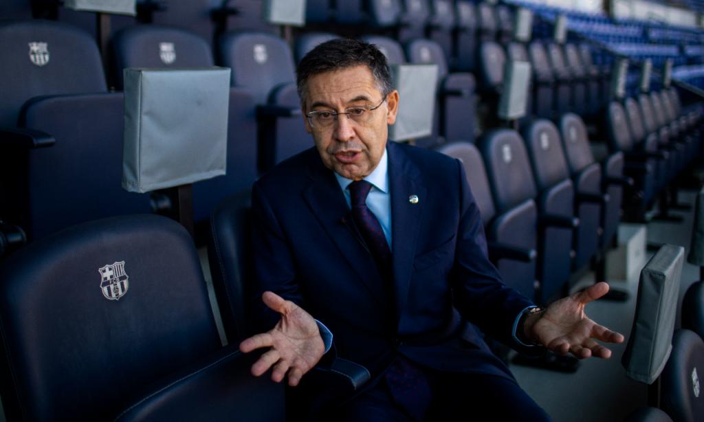 Josep Maria Bartomeu (Emilio Morenatti/AP)