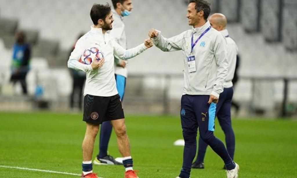 Bernardo Silva e Ricardo Carvalho (Instagram)