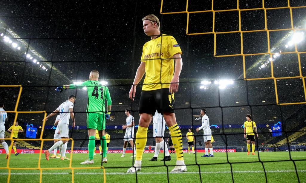 2. Haaland (Noruega - Borussia Dortmund) - 80 milhões de euros