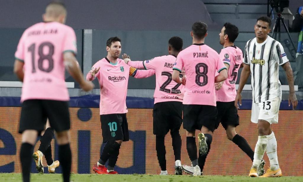Juventus-Barcelona (Antonio Calanni/AP)
