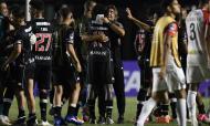 Vasco da Gama venceu Caracas, por 1-0, em jogo da primeira mão da segunda fase da Taça Sul-americana (Mauro Pimentel/AP)