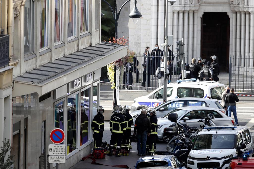 Operação policial após ataque alegadamente terrorista em Nice