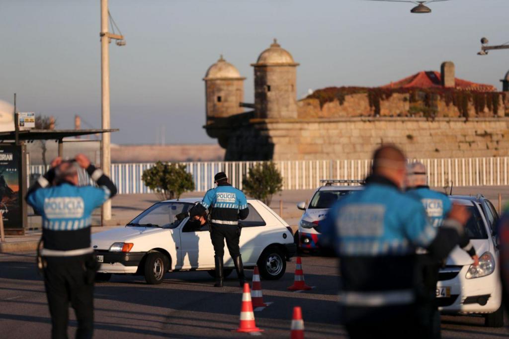 PSP faz operação Stop no Porto