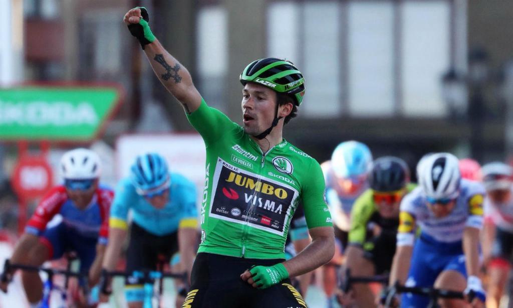 Primoz Roglic venceu mais uma etapa na Vuelta