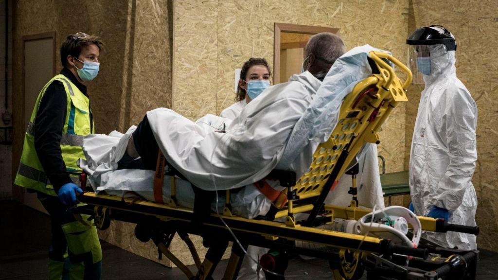 Covid-19: hospitais belgas estão a chegar ao limite