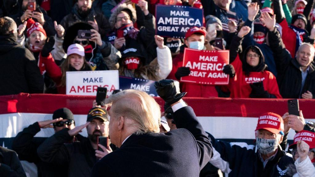Campanha para as presidenciais norte-americanas
