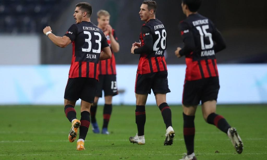 Eintracht Frankfurt-Werder Bremen (Alex Grimm/EPA)
