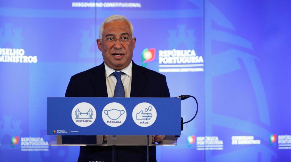 António Costa anuncia novas medidas para concelhos de alto risco