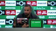 Amorim explica como convenceu Palhinha a renovar pelo Sporting