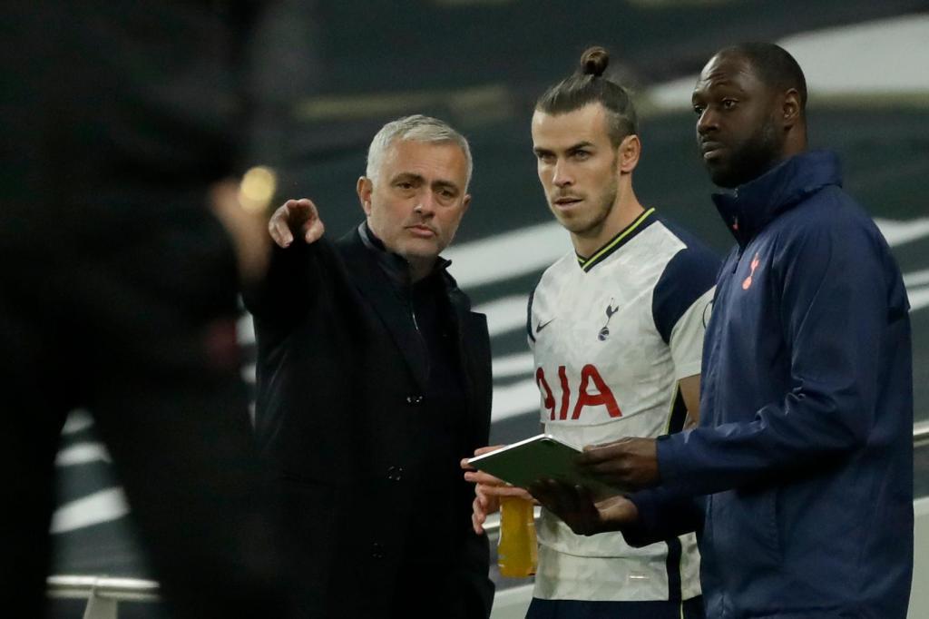 Mourinho e Bale
