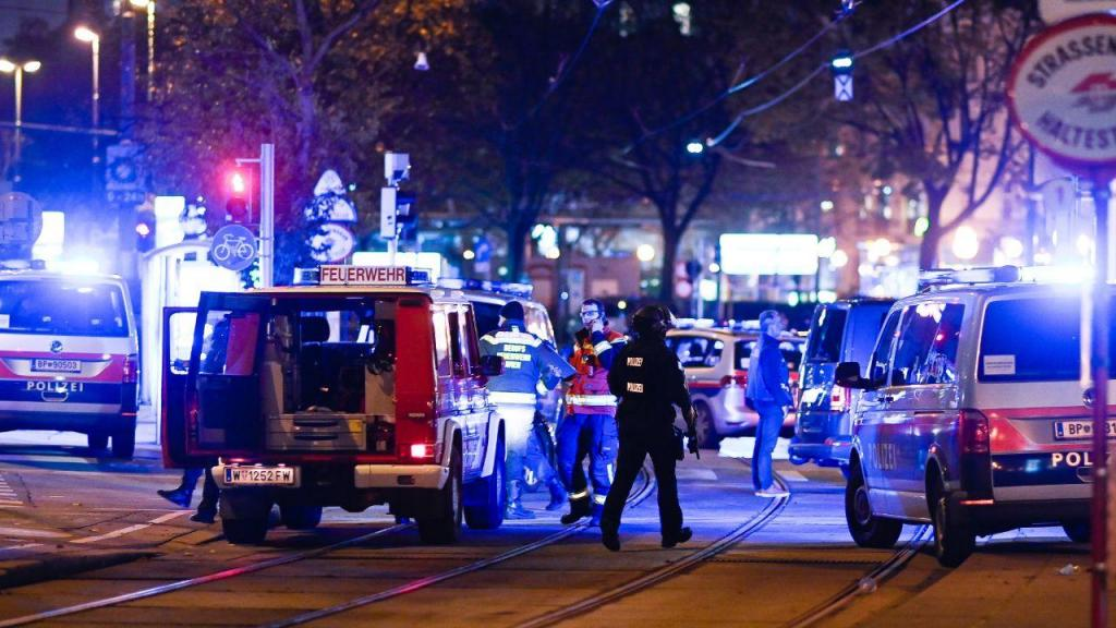 Megaoperação policial em Viena após ataque perto de sinagoga