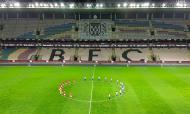 Minuto de silêncio no Boavista-Benfica, em memória de Mário Dias (RJC)