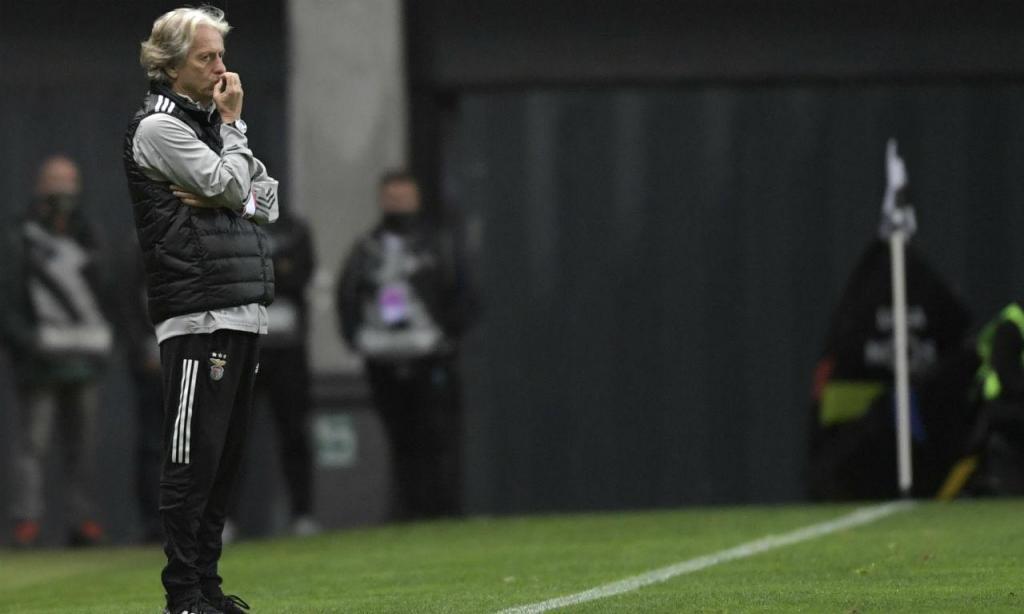 Jorge Jesus no Boavista-Benfica (Lusa)