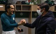 Abel já esteve com os jogadores do Palmeiras (foto Palmeiras)