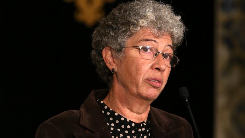 Secretária-geral da Confederação Geral dos Trabalhadores Portugueses - Intersindical Nacional (CGTP-IN) Isabel Camarinha