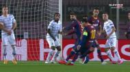 Esta é provavelmente a defesa da noite: Neshcheret a livre de Messi