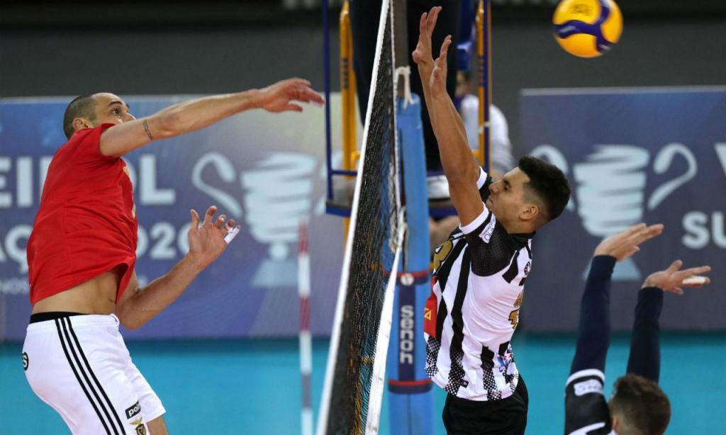 Benfica conquista Supertaça de voleibol (Lusa)