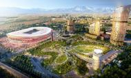 FOTOS: projeto de um novo estádio em Milão ganha forma