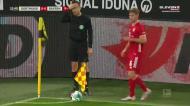 Dortmund-Bayern: cabeçada de Goretzka e grande defesa de Burki