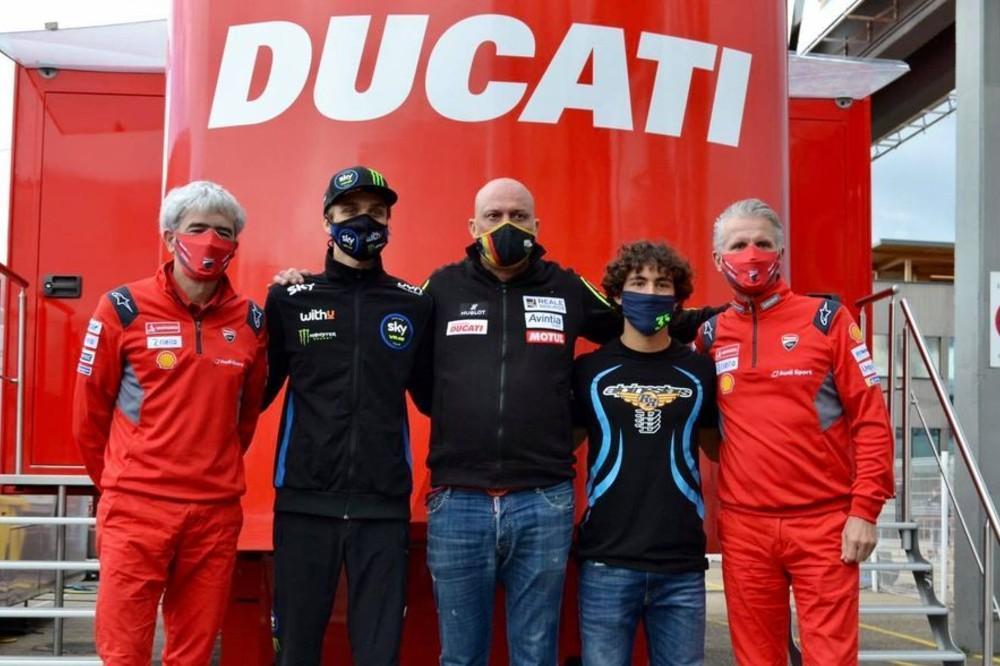 Luca Marini e Enea Bastianini /esponsorama Racing)