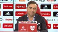 Carvalhal explica ausência de Gaitán frente ao Benfica