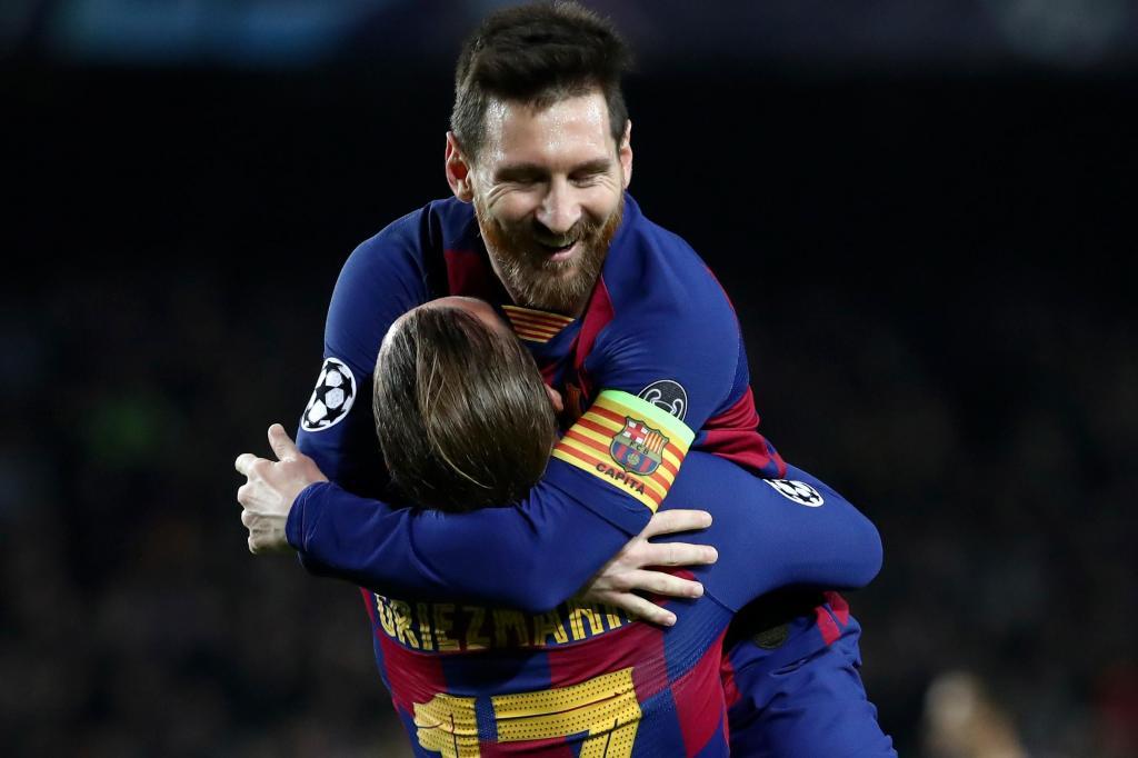 Messi e Griezmann