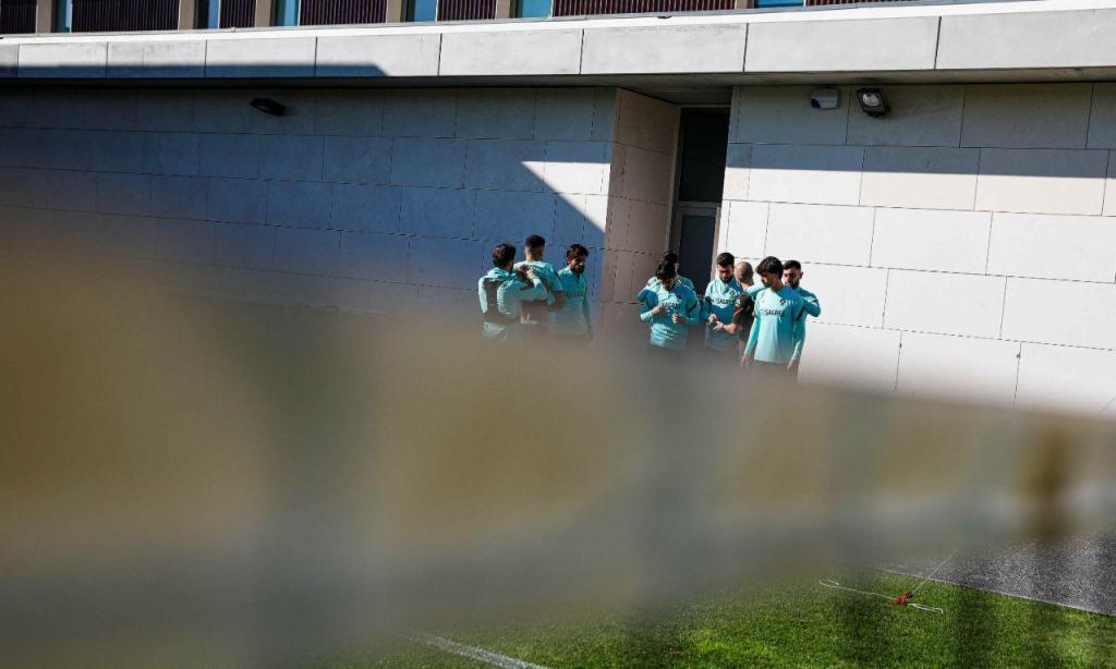 Treino da seleção nacional (Fotos: FPF)