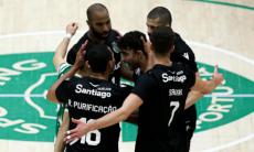 Sporting apurado para os «oitavos» da Taça Challenge de voleibol