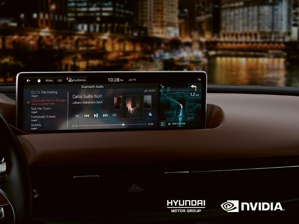 Hyundai e Nvidia Drive