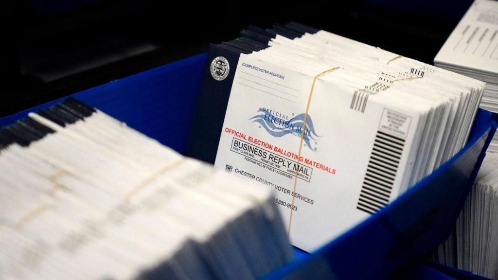 Boletins de voto antecipado