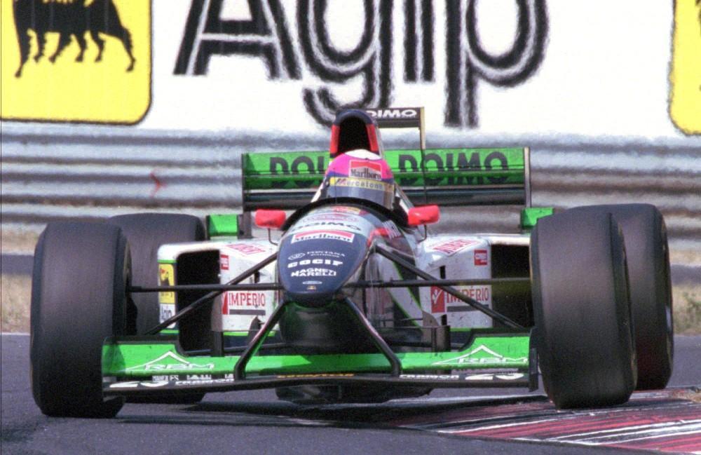 Pedro Lamy Minardi F1 (Associated Press)