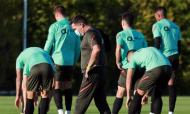 Seleção sub-21 em estágio no Algarve, na preparação para a qualificação do Europeu (FPF)