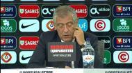 Fernando Santos: «Equipa respondeu muito bem ao que queria»