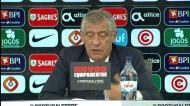 Fernando Santos: «Portugal está bem em todos os momentos do jogo»
