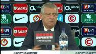 A pergunta que pôs Fernando Santos a rir