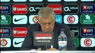Fernando Santos: «Já me sinto um sortudo há seis anos»