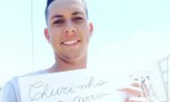 Marcos Paulo, jogador brasileiro, está sem jogar e ganha vida a vender essências para carros (Instagram)