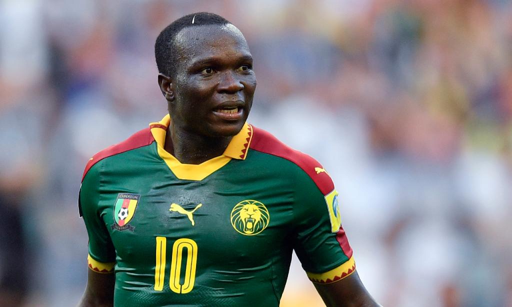 Vincent Aboubakar na seleção de Camarões (Martin Meissner/AP)