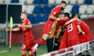 Play-off Euro 2020: Geórgia-Macedónia do Norte (Zurab Kurtsikidze/EPA)