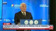 «Às 13h, tudo fechado!»: Costa anuncia mais medidas contra a covid-19