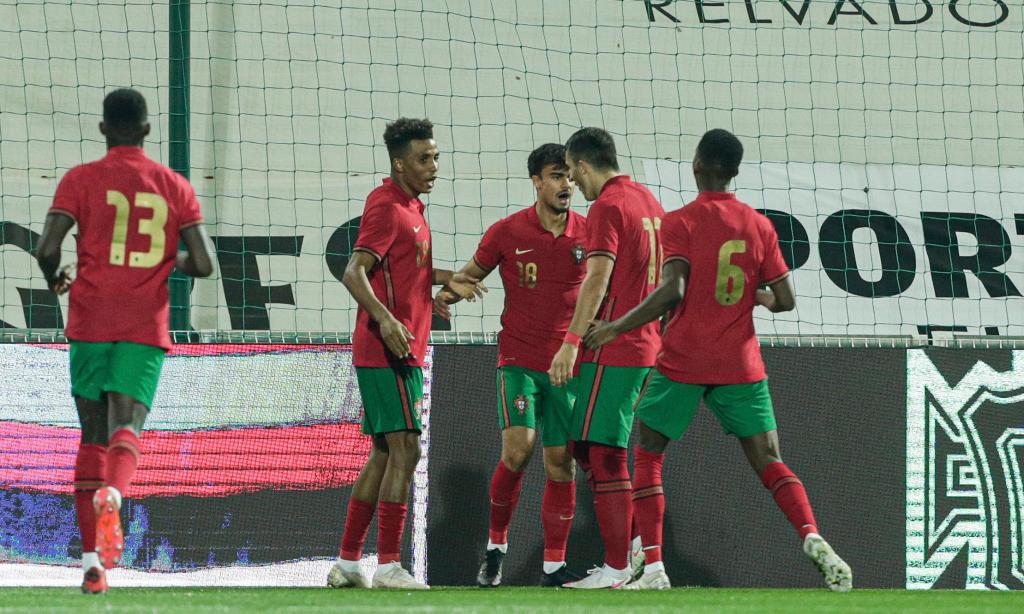 Portugal-Bielorrússia em sub-21