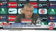 Fernando Santos: «Respeito, sim, mas sem subserviência»