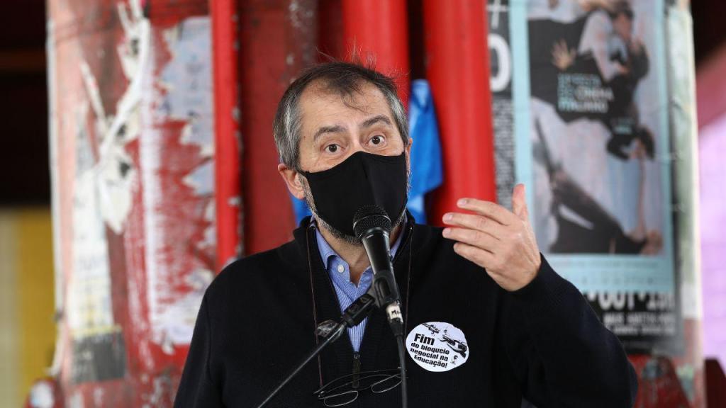 Fenprof: Dirigentes e delegados sindicais concentram-se junto ao Ministério da Educação