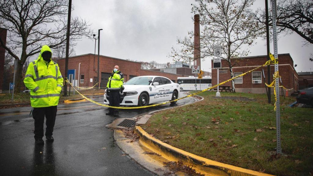 Explosão em hospital de veteranos