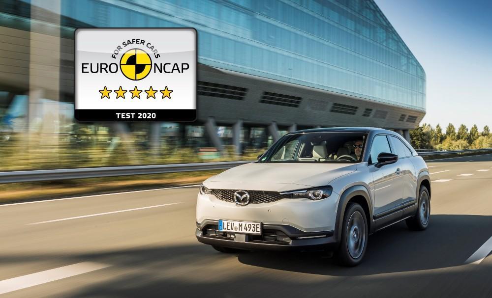 Testes Euro NCAP Mazda MX-30