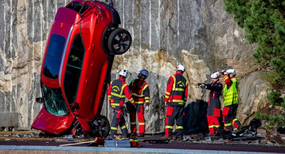 Volvo testes de segurança